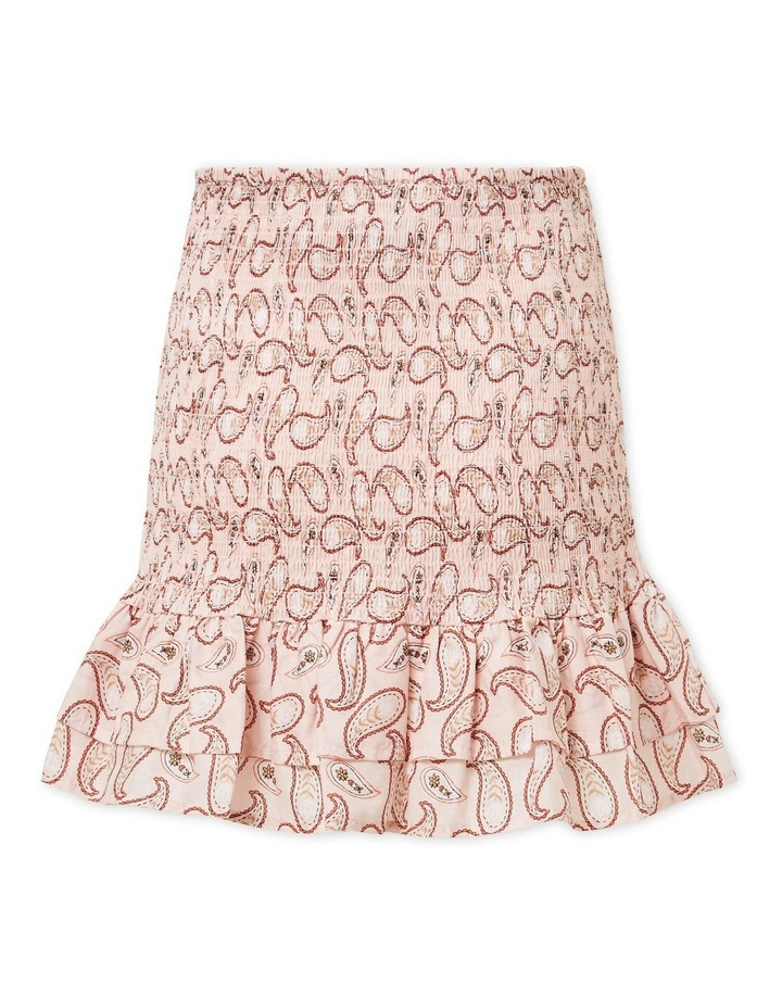 Paisley Smocked Skirt image 6