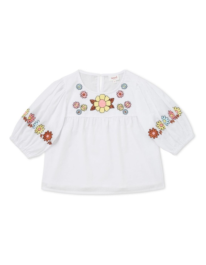 Embroidered Top image 1
