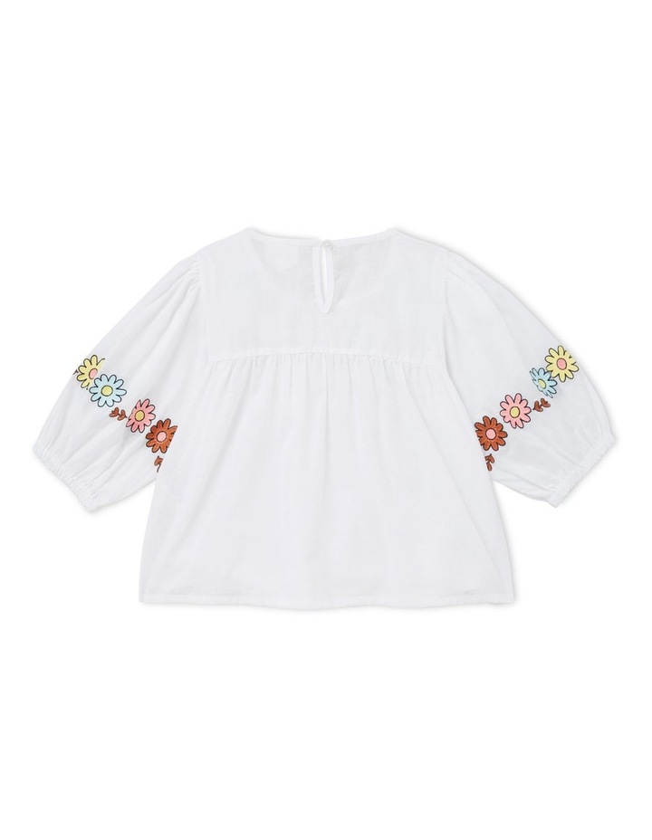 Embroidered Top image 3