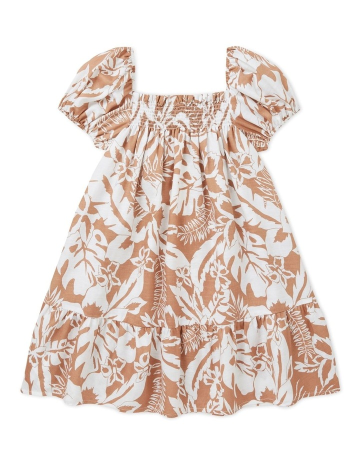 Palm Print Dress image 2