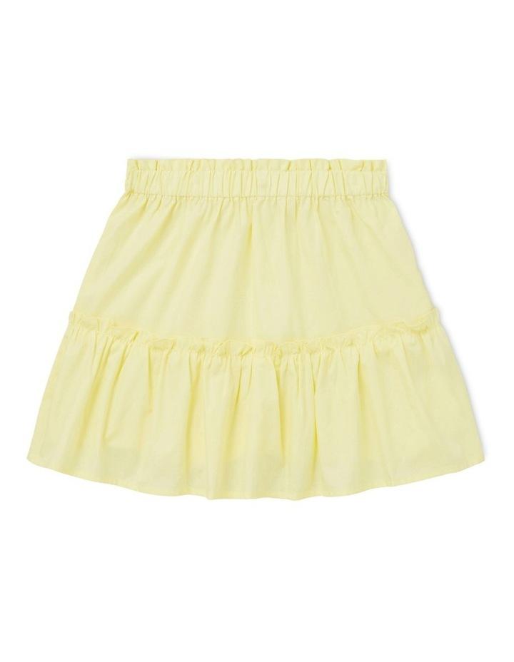 Poplin Tiered Skirt image 1