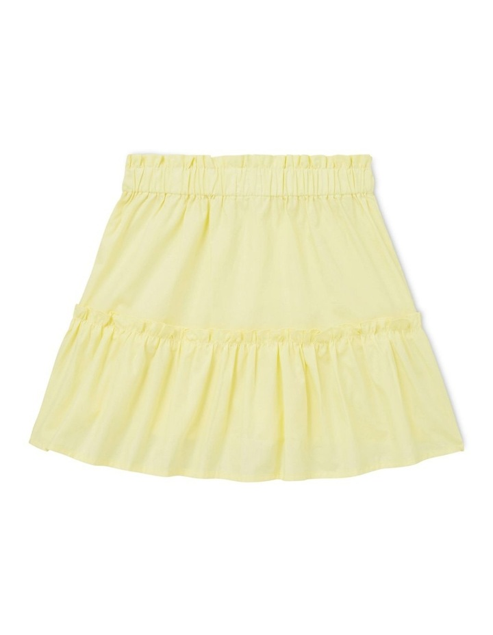 Poplin Tiered Skirt image 2