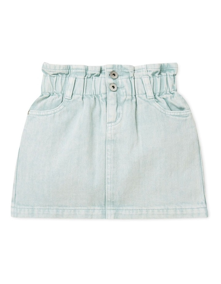 Paperbag Denim Skirt image 1