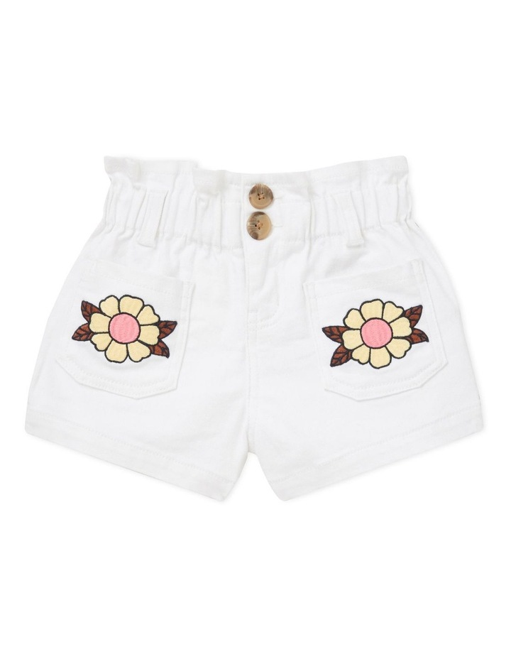 Embroidered Short image 1
