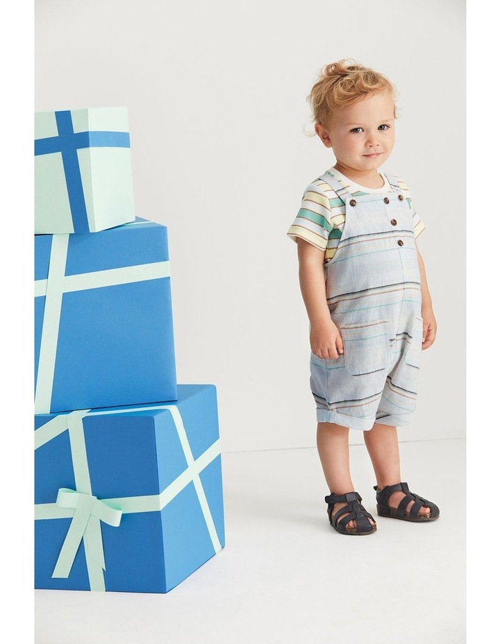 Striped Overall image 2