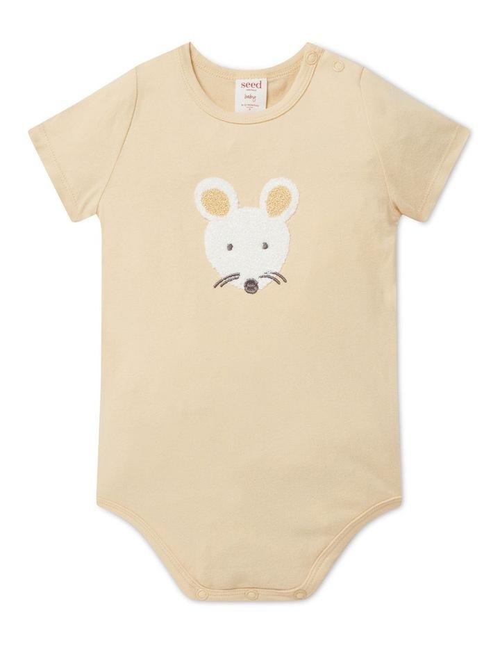 Chenille Mouse Bodysuit image 1