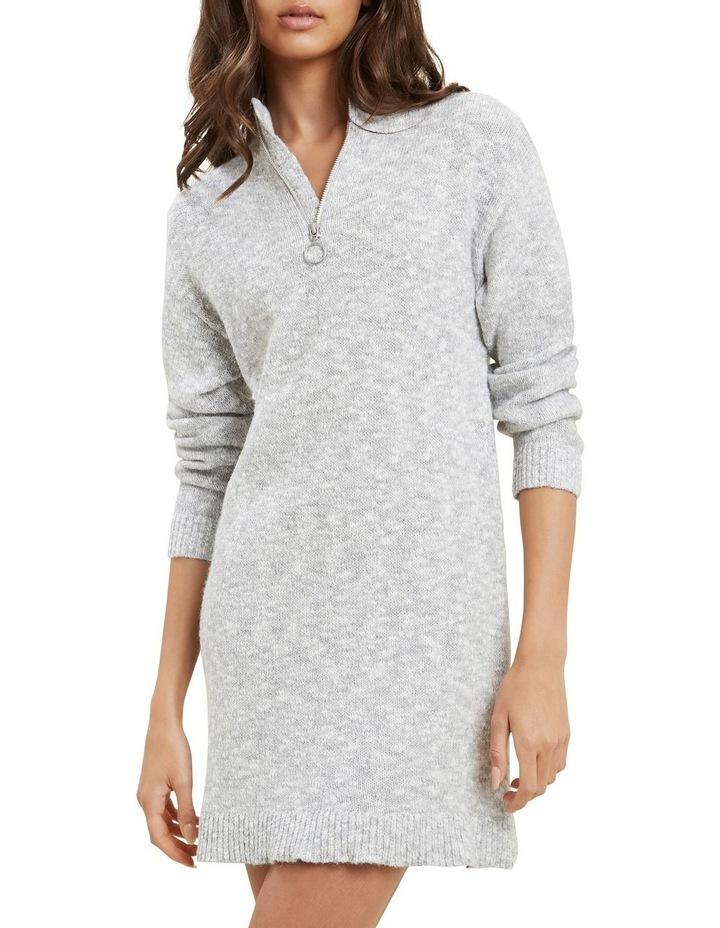 Knit Long Sleeve Dress image 3
