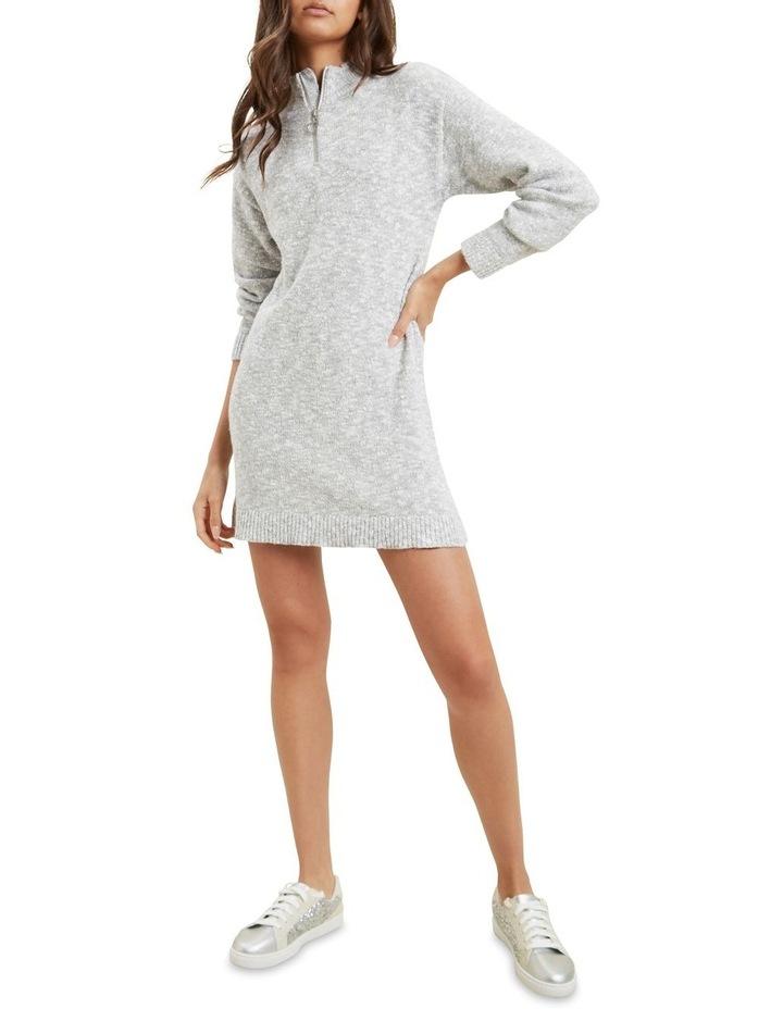 Knit Long Sleeve Dress image 4