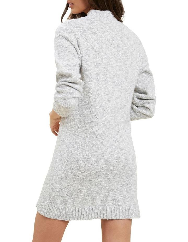 Knit Long Sleeve Dress image 5
