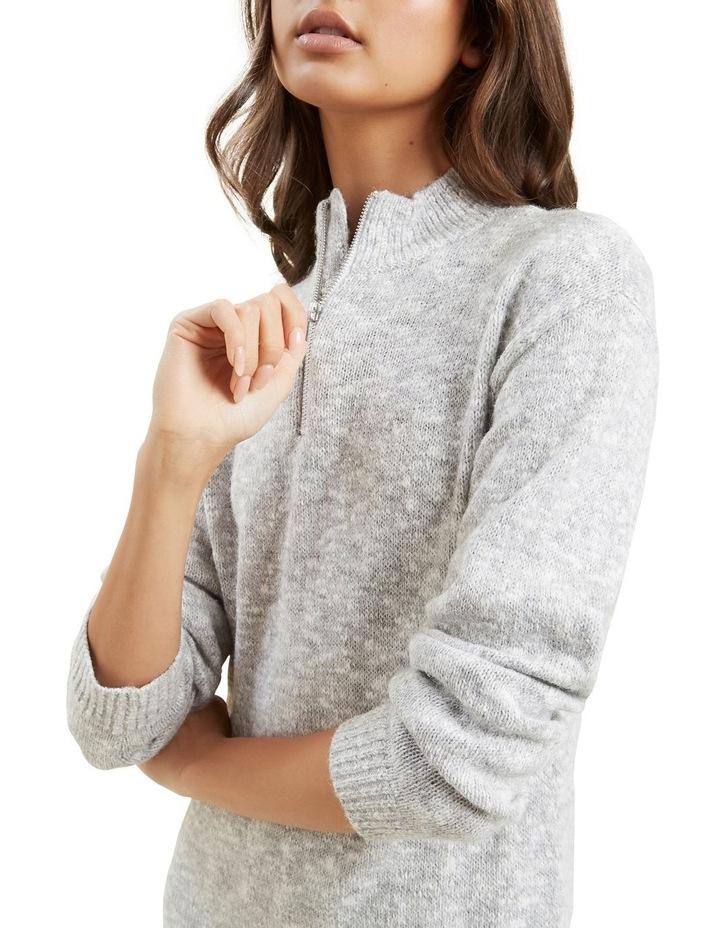Knit Long Sleeve Dress image 6