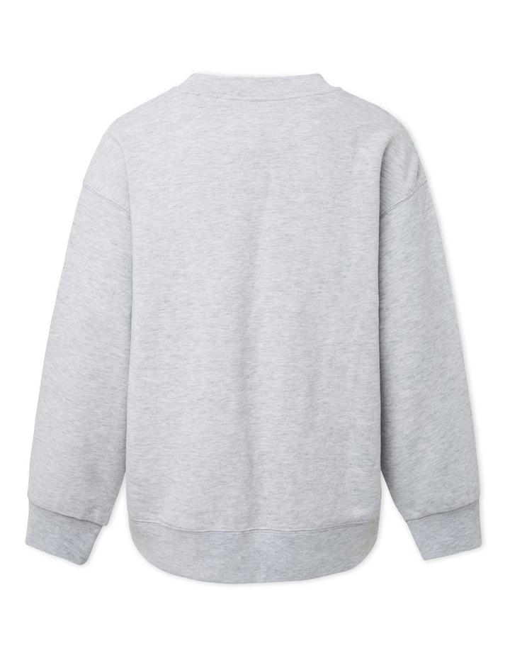 Varsity Cropped Sweater image 2