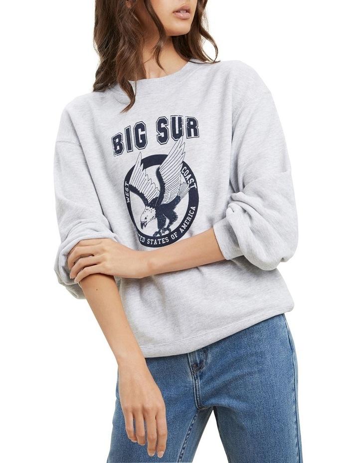Varsity Cropped Sweater image 3
