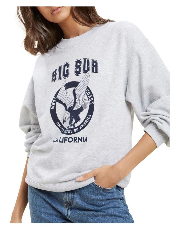 Varsity Cropped Sweater image 6