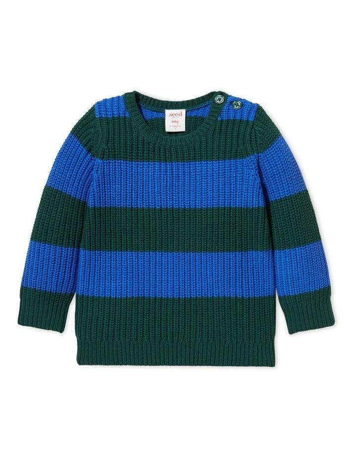 Chunky Stripe Sweater image 1