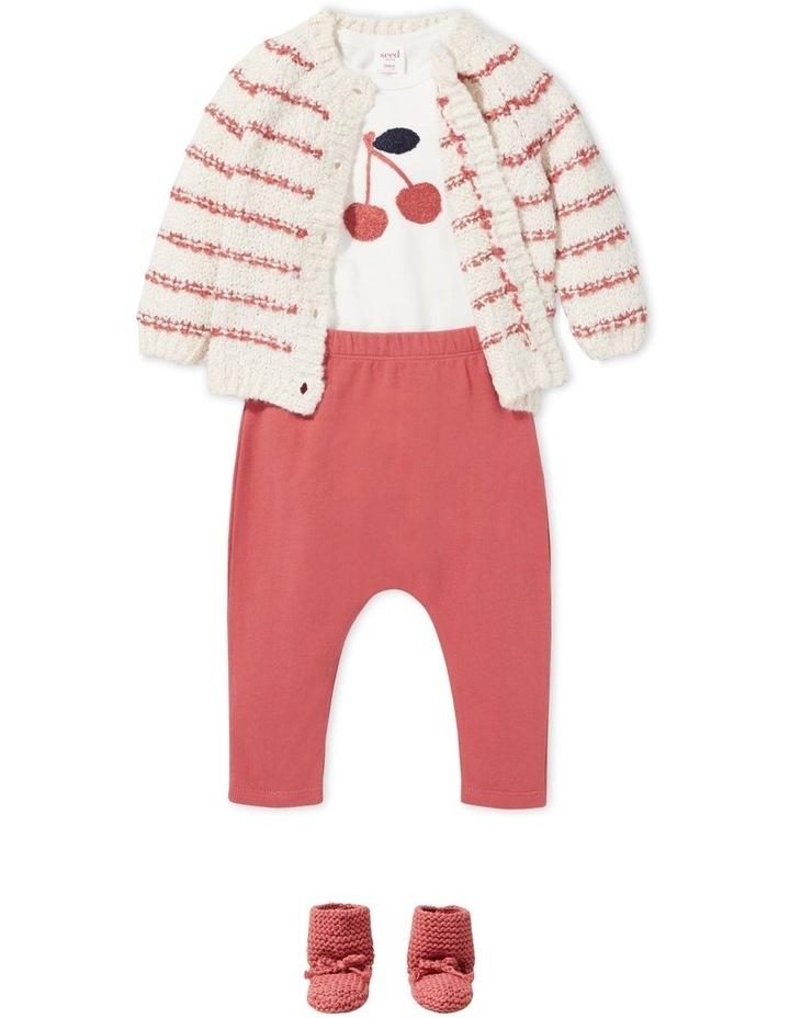 Fluffy Stripe Cardigan image 2