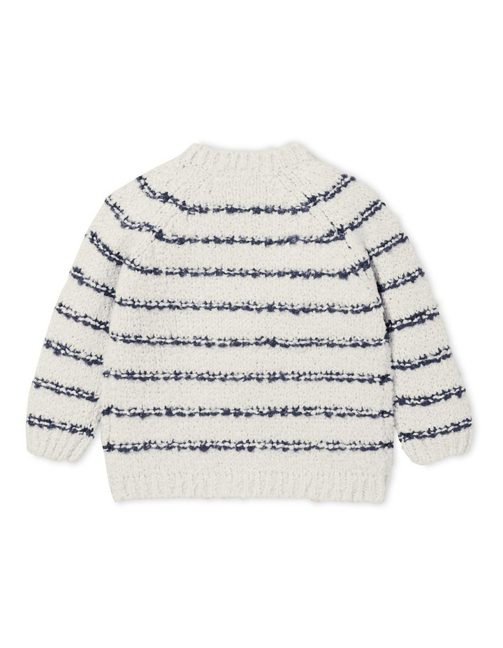 Fluffy Stripe Cardigan image 3
