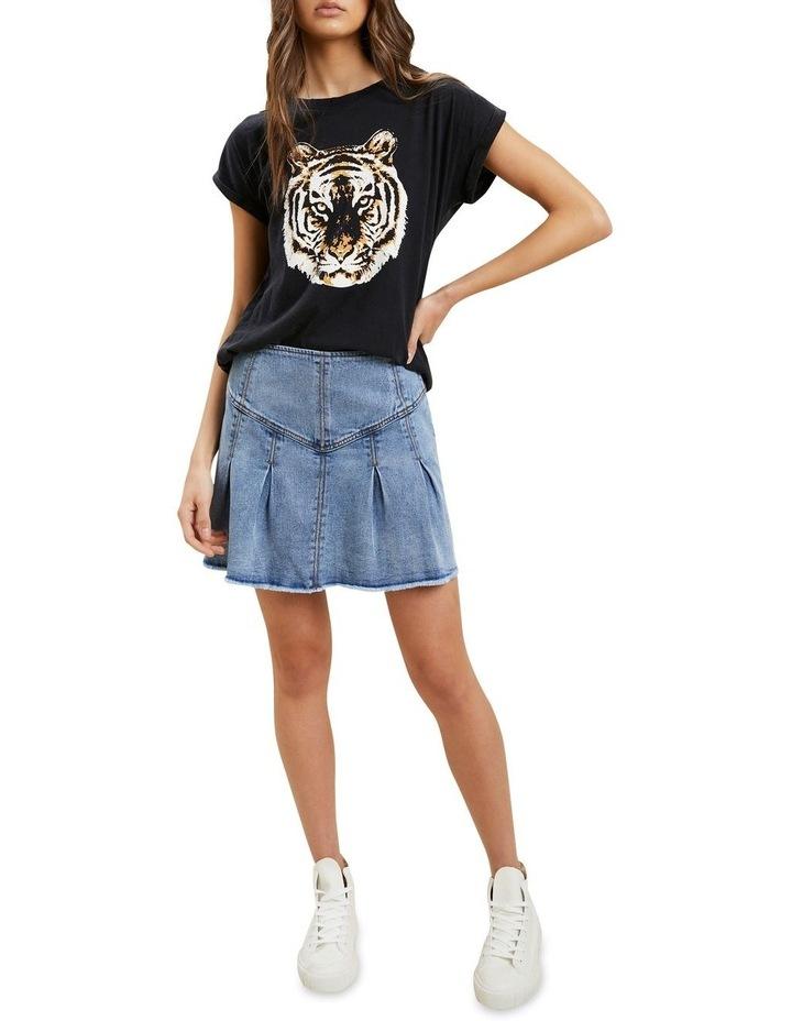 Frill Denim Skirt image 2