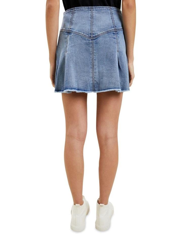 Frill Denim Skirt image 3