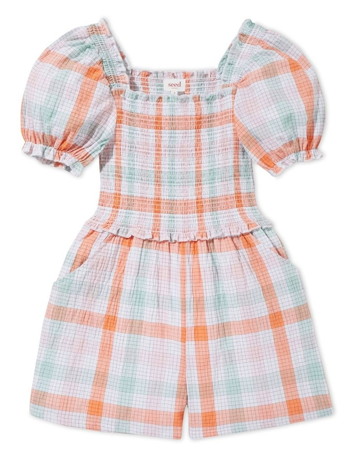 Gingham Playsuit image 1