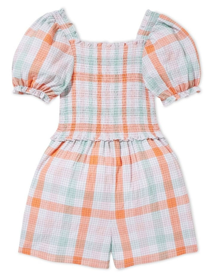 Gingham Playsuit image 2