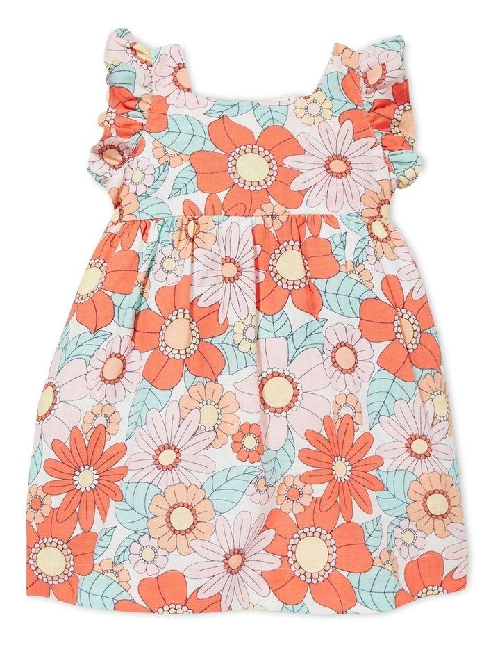 Linen Floral Dress image 1