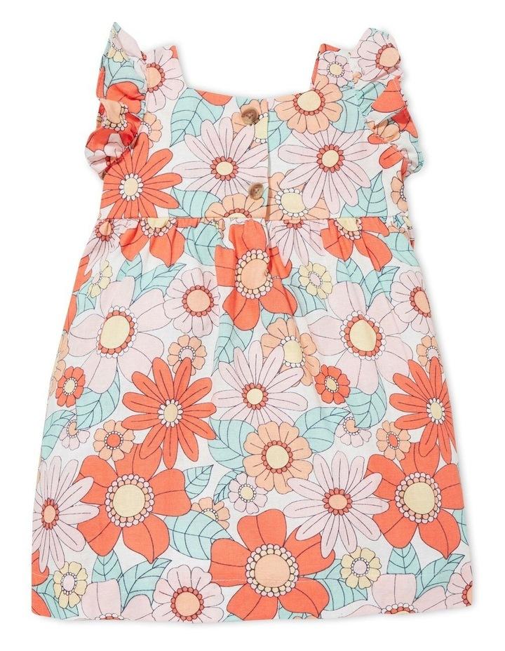 Linen Floral Dress image 2