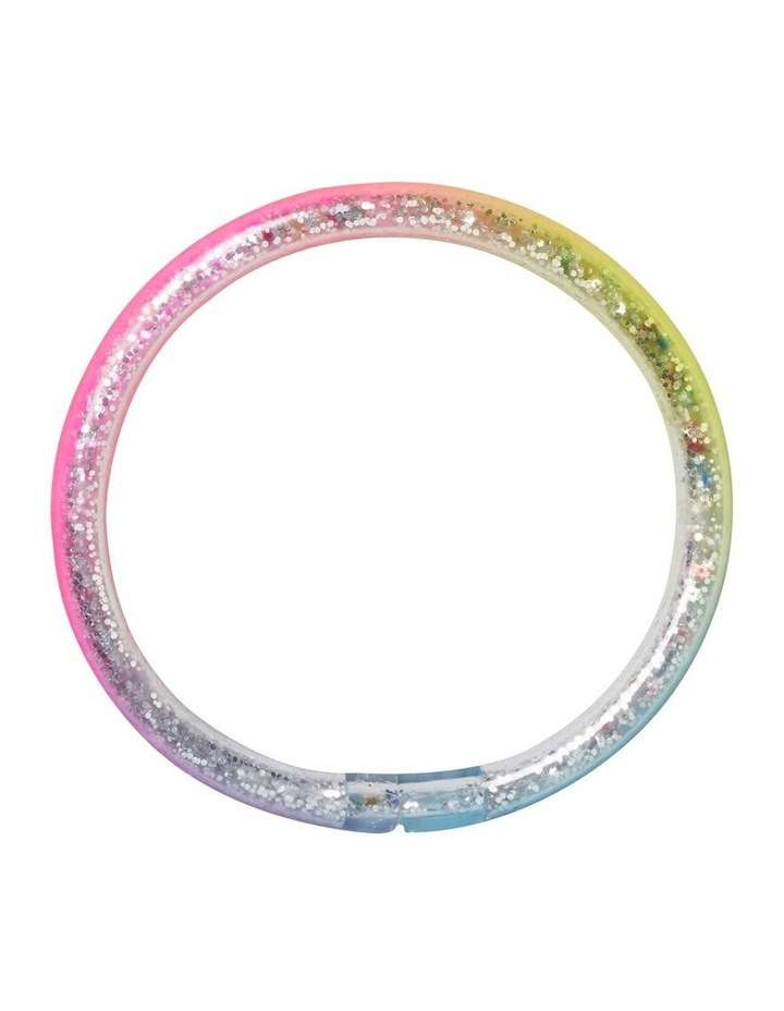 Rainbow Glitter Bangle image 1