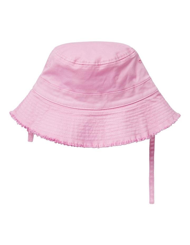 Frayed Brim Bucket Hat image 1