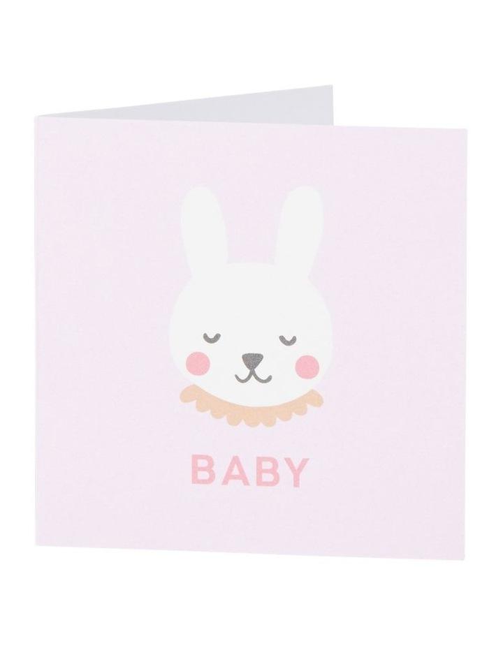 Small Baby Bunny Card image 1
