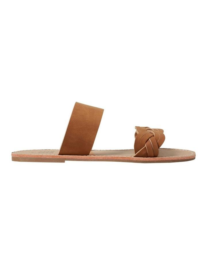 Tan Plait Sandal image 1
