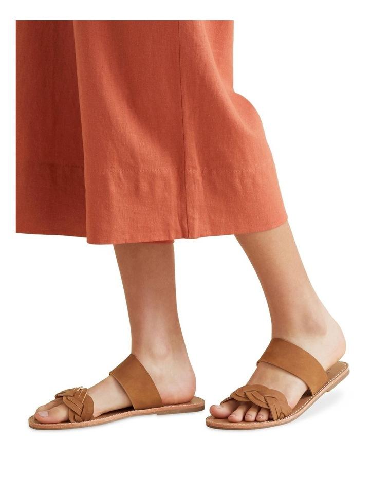Tan Plait Sandal image 2