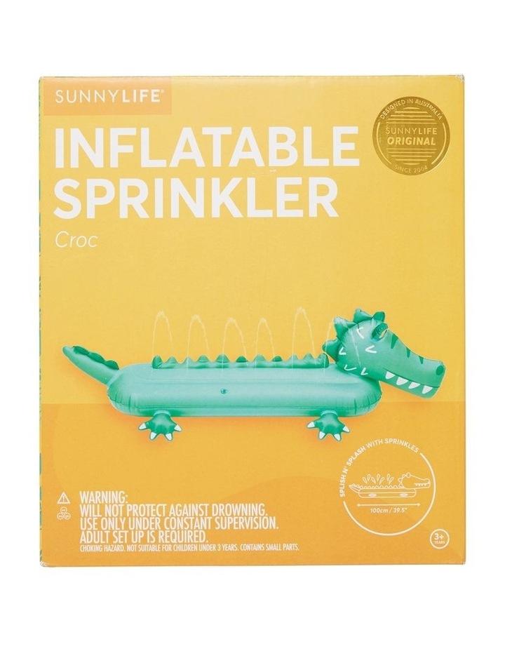 Inflatable Sprinkler Croc image 1