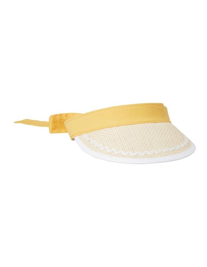 Straw Ric Rac Hat image 1