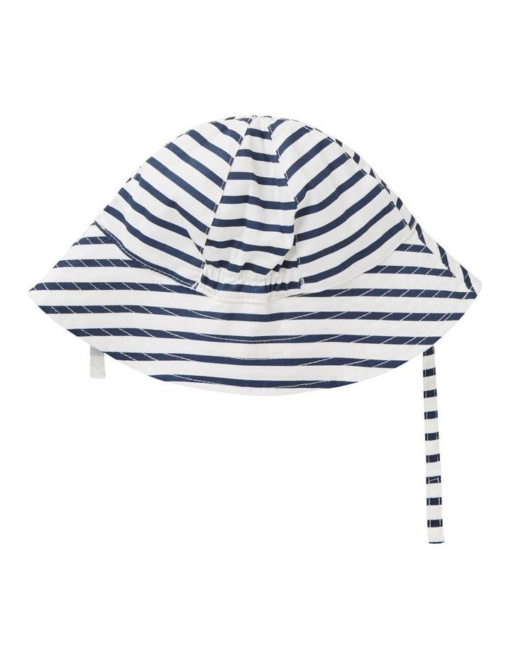 Stripe Smiley Sun Hat image 2