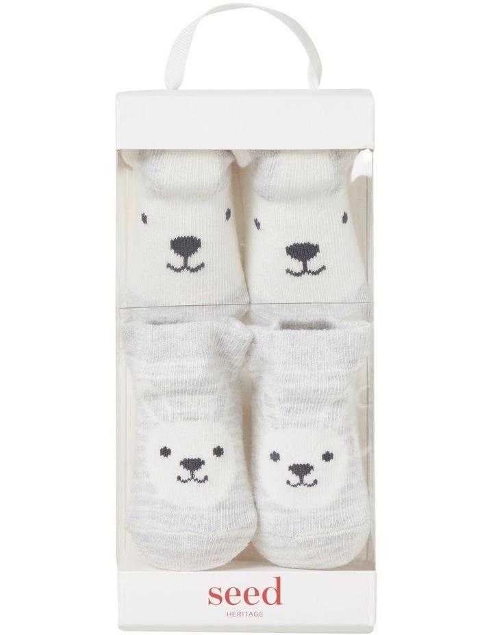 2 Pack Bunny Socks image 1