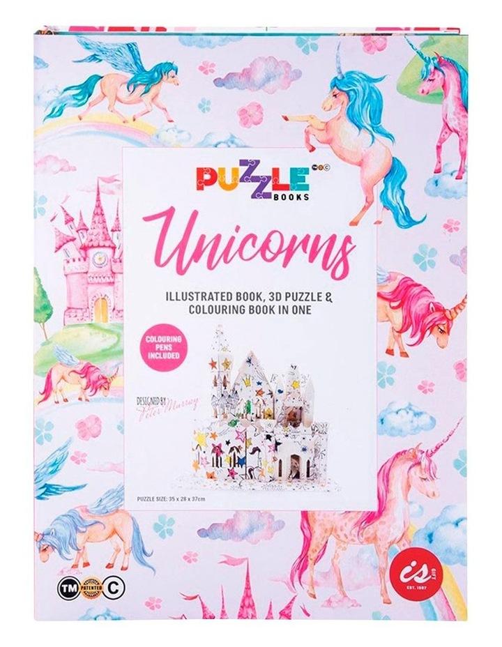 Puzzle Book Unicorn image 1