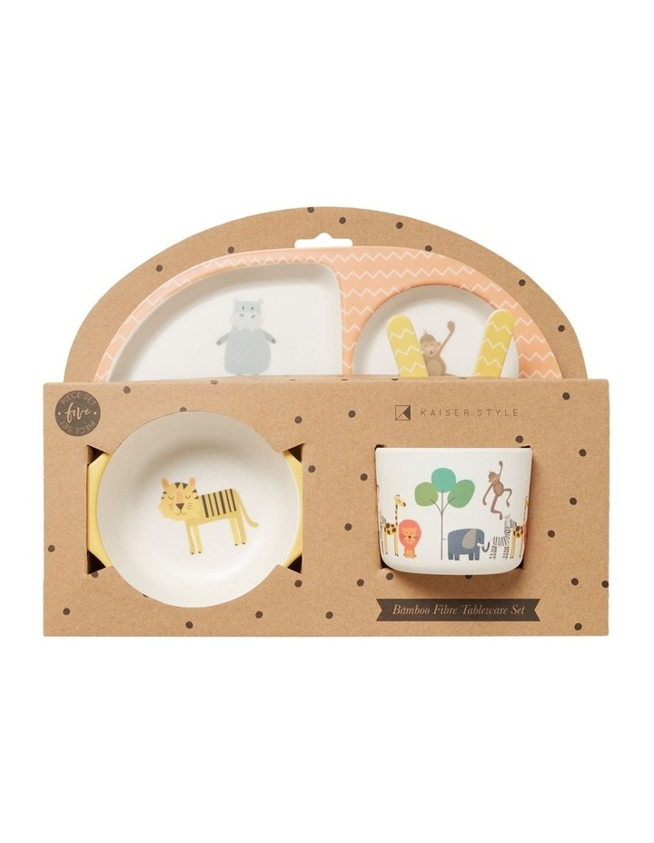 Safari Baby Plate Set image 1