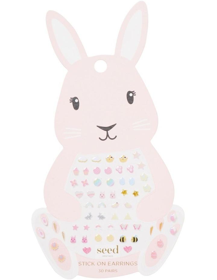 Bunny Stick On Earrings image 1