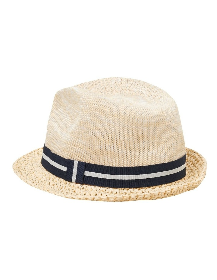 Woven Trilby Hat image 2