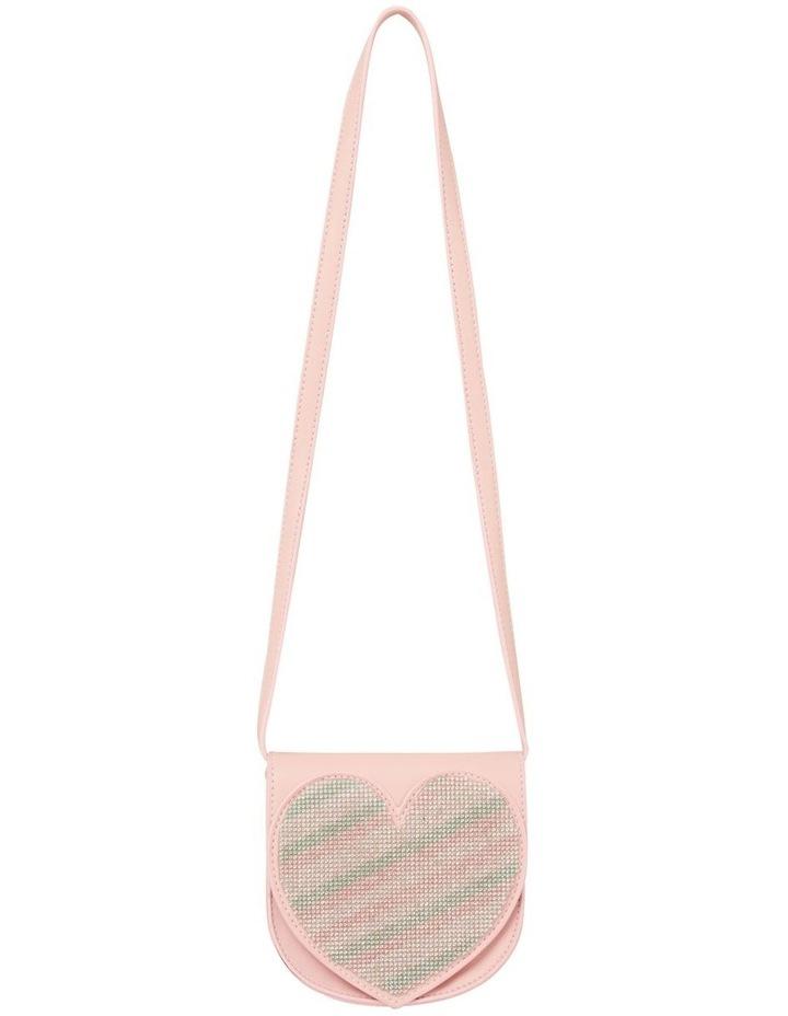 Jewel Heart Saddle Bag image 1