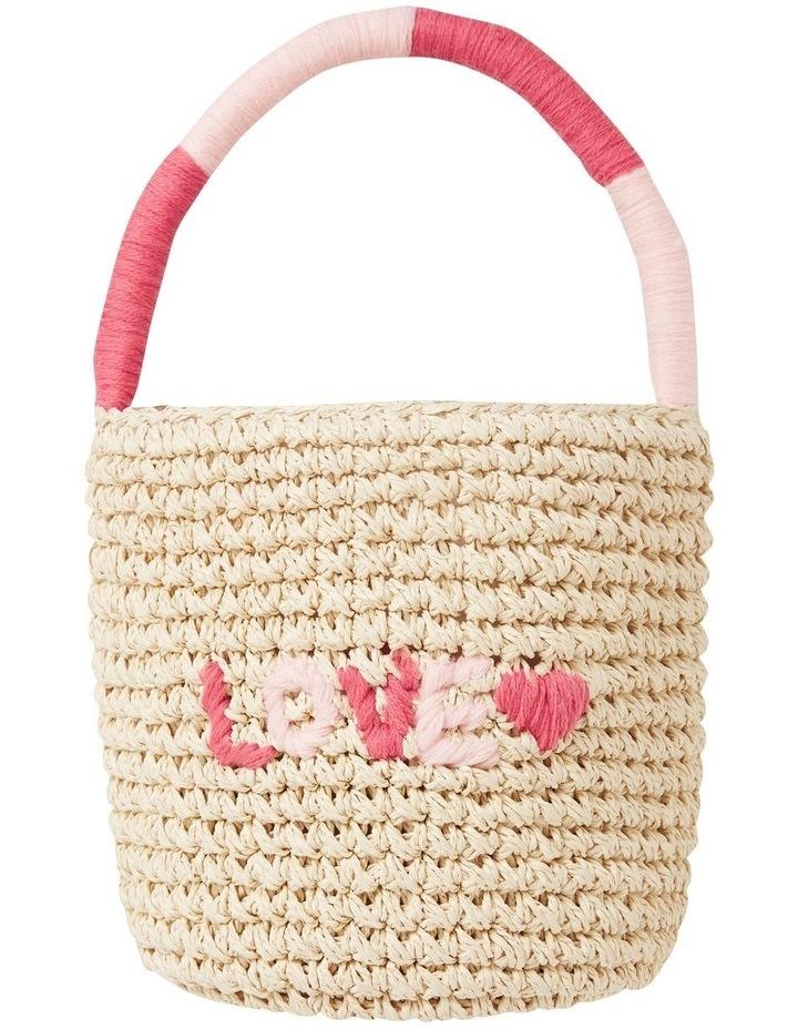Straw Basket Bag image 1