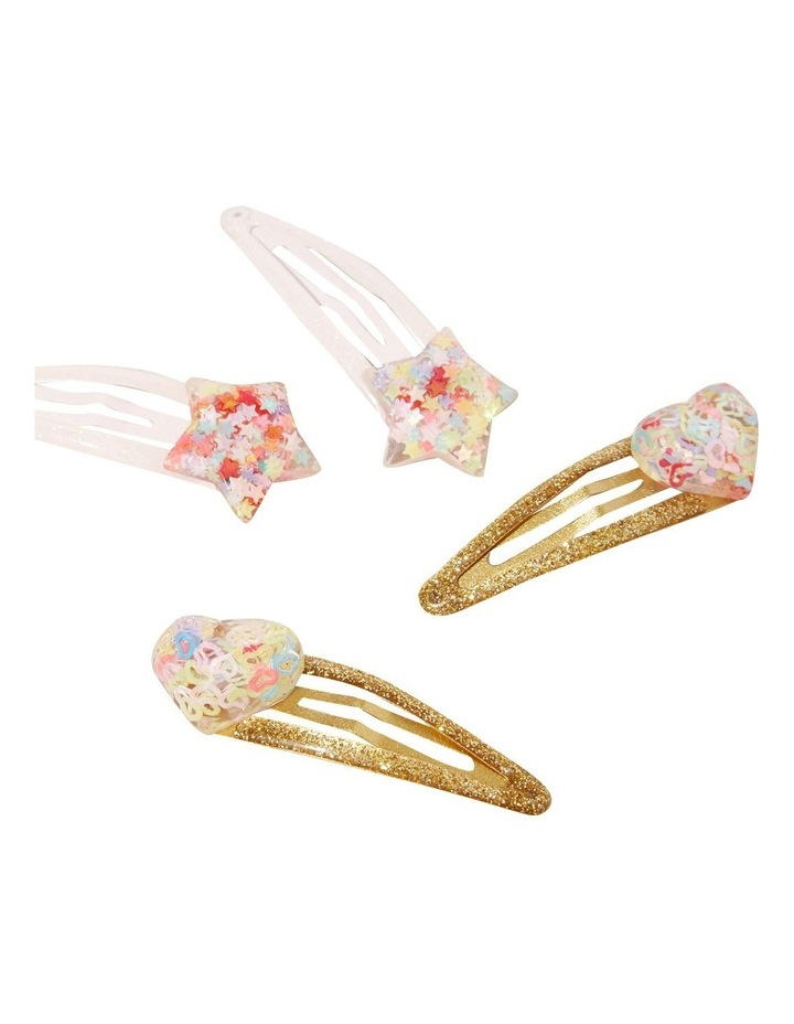 Glitter Heart Clip Multipack image 2