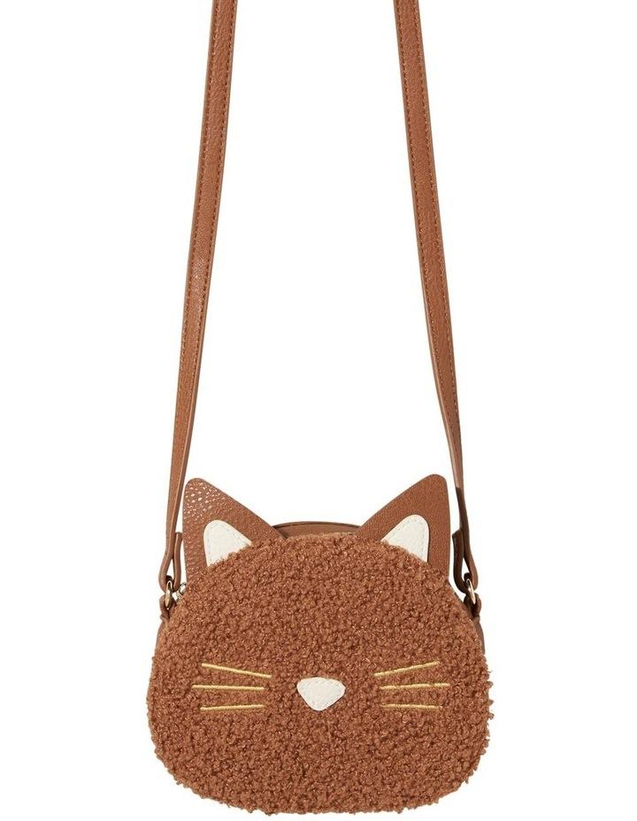 Teddy Fur Cat Bag image 1