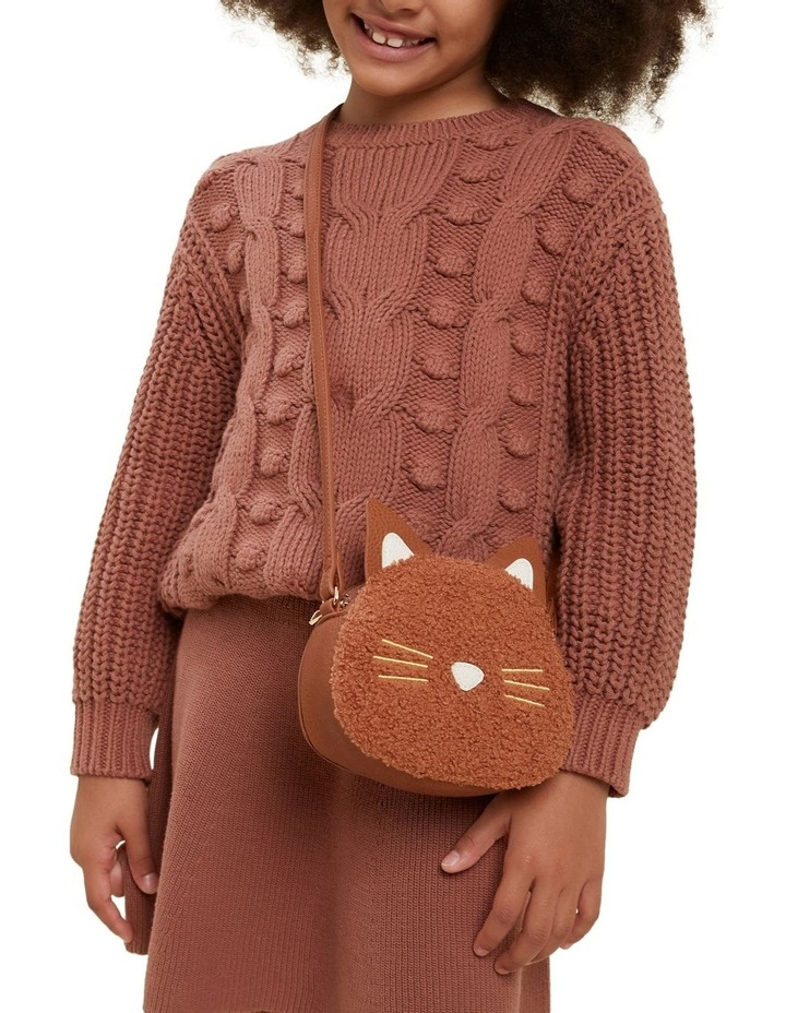 Teddy Fur Cat Bag image 2