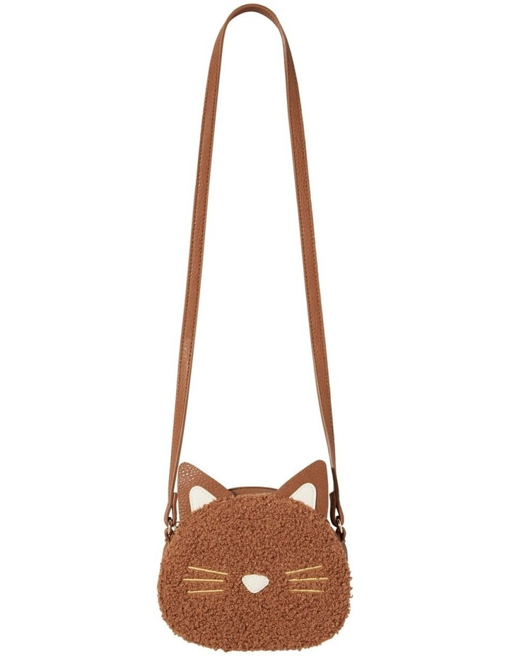 Teddy Fur Cat Bag image 3