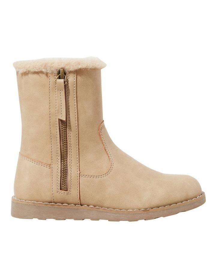 Fur Zipper Boot image 1