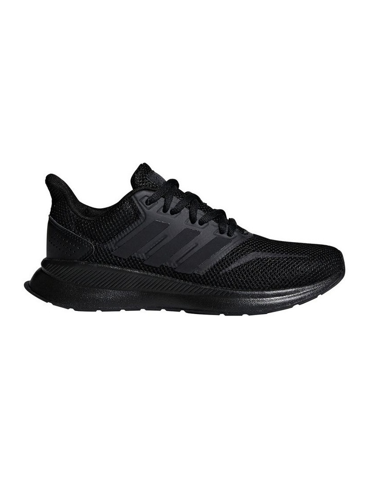 Runfalcon Grade School Black Sneakers image 1