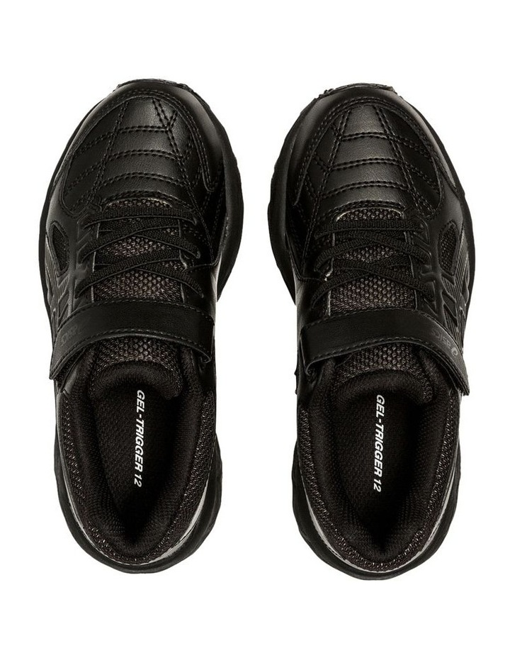Gel-Trigger 12 TX Black Pre School Boys Sports Shoes image 3