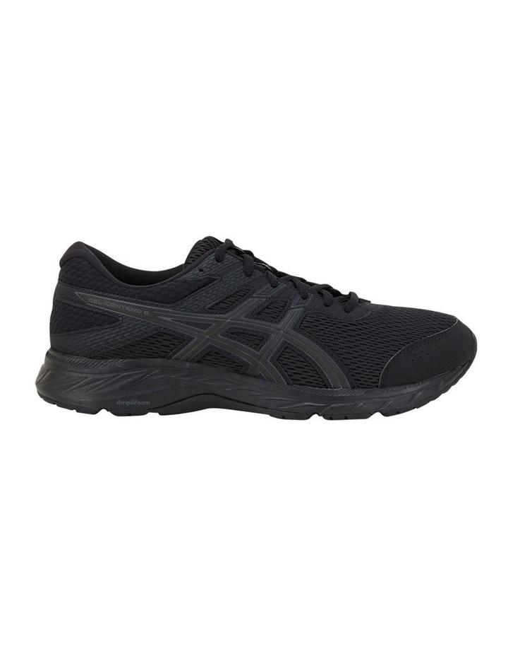 GEL-Contend 6 Black Sports Shoes image 1