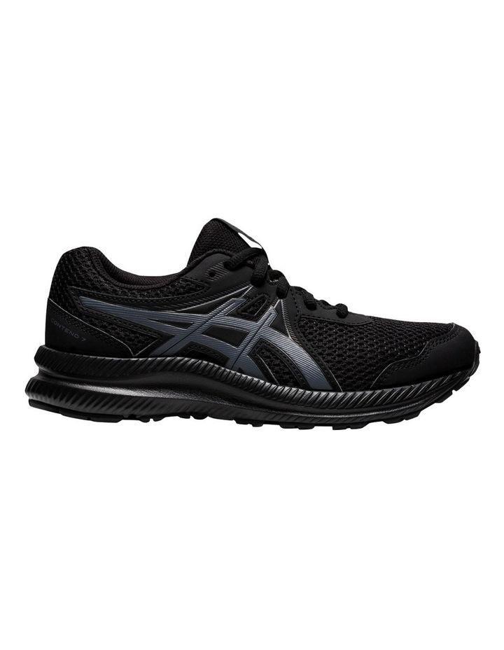 Contend 7 Black Grade School Boys Sports Shoes image 1